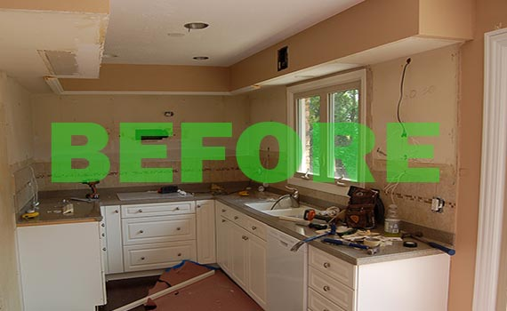 GreeDay Kitchen Remodel
